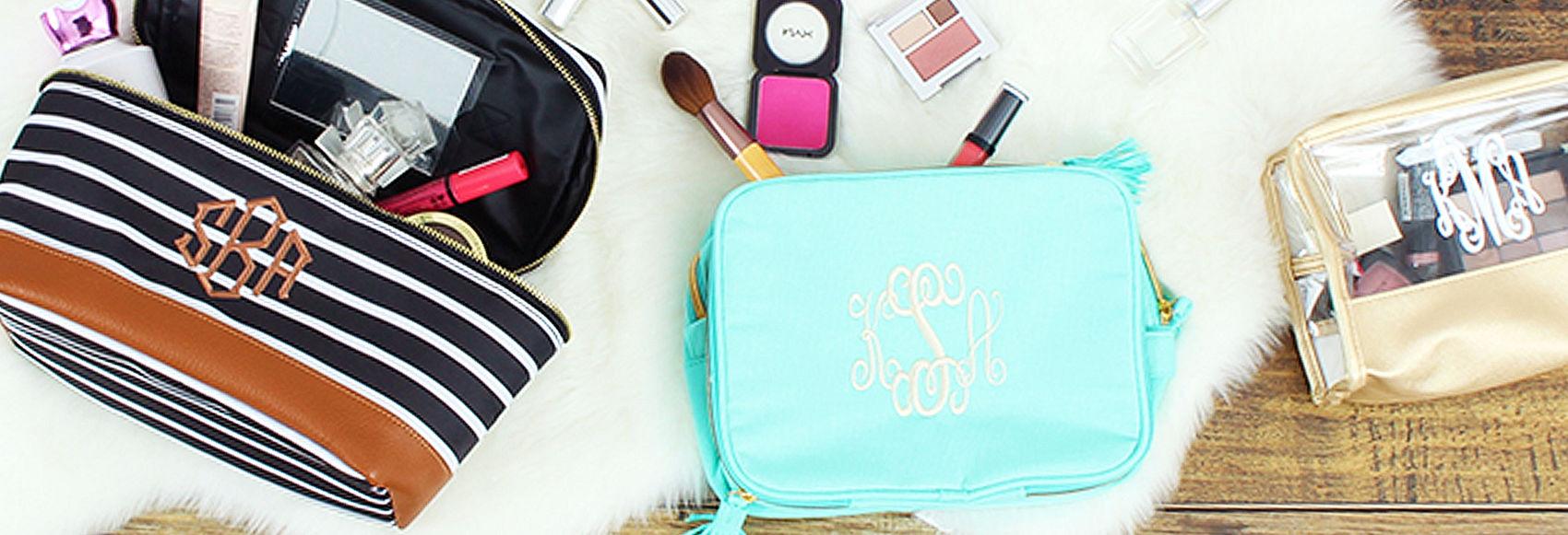 Cosmetics + Toiletry Bags