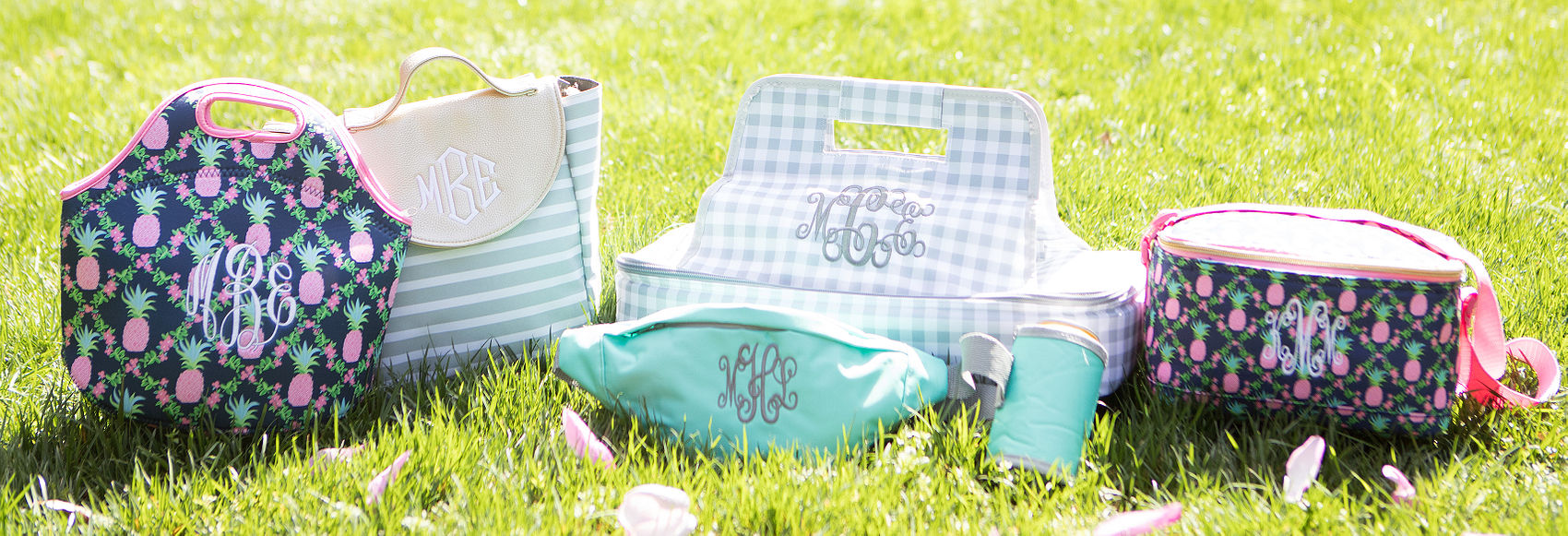 Monogrammed Insulated Bags