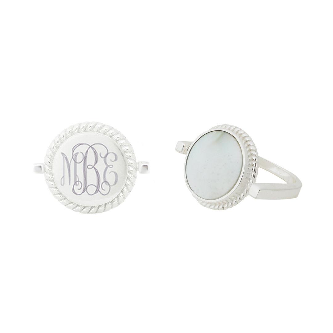 Nala Monogram Ring