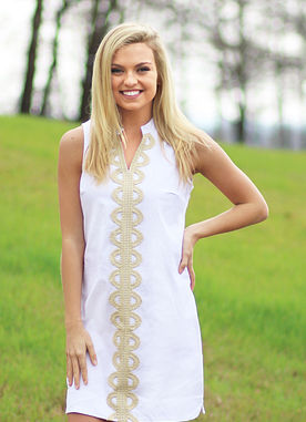 Hooked On You Dress In White