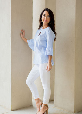 Shay Tunic in Blue