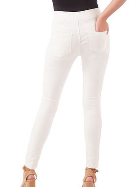 The Elyse Jeggings in White