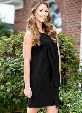Elizabeth Dress in Black