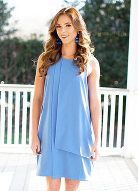 Elizabeth Dress in Blue