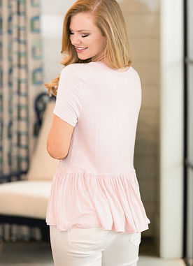 Mason Top in Pink