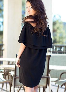 Pippa Dress in Black