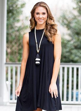 Alyssa Dress in Black