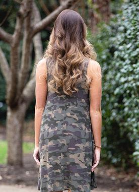 Alyssa Dress in Camo