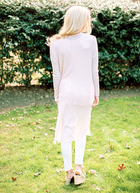 The Blythe Cardigan in Blush