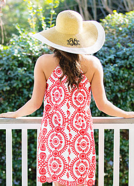 Decadent Details Dress in Red