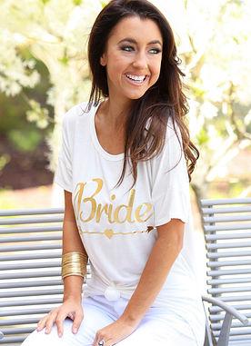 Bride Vibes Top