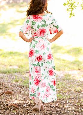 In Full Bloom Maxi Dress
