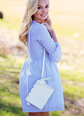 So Blue Dress