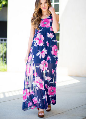 Nothing But Flowers Maxi Dress