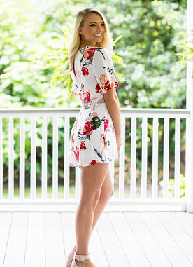 Sunshine On The Line Romper