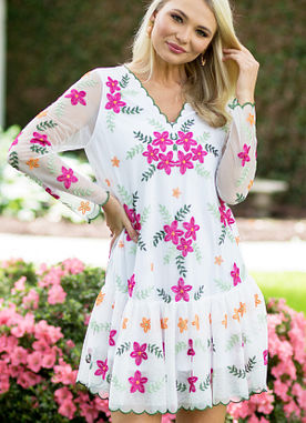 Surrounded By Love Dress
