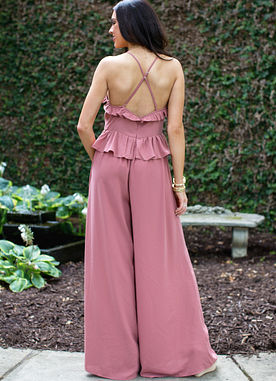 Beyond Words Jumpsuit