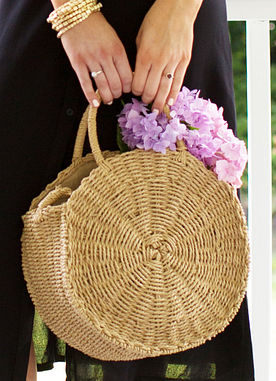 Summer Glory Tote in Natural