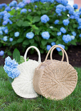 Summer Glory Tote in Ivory