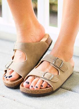 Takin' The Backroads Sandals