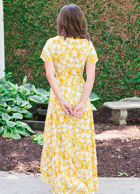 Golden Girl Maxi Dress