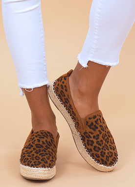 Summertime Espadrilles in Leopard