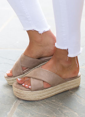 Right On By Platform Sandals