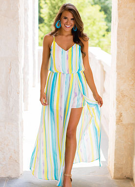 Missing You Like Candy Romper