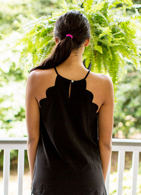 Thoughtful Moment Top in Black