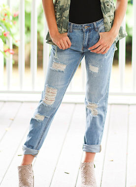 On Another Level Boyfriend Jeans