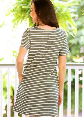 Season Stripe Dress