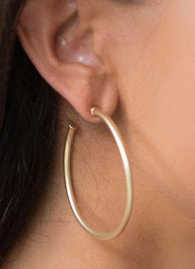 Loved The Most Hoop Earrings