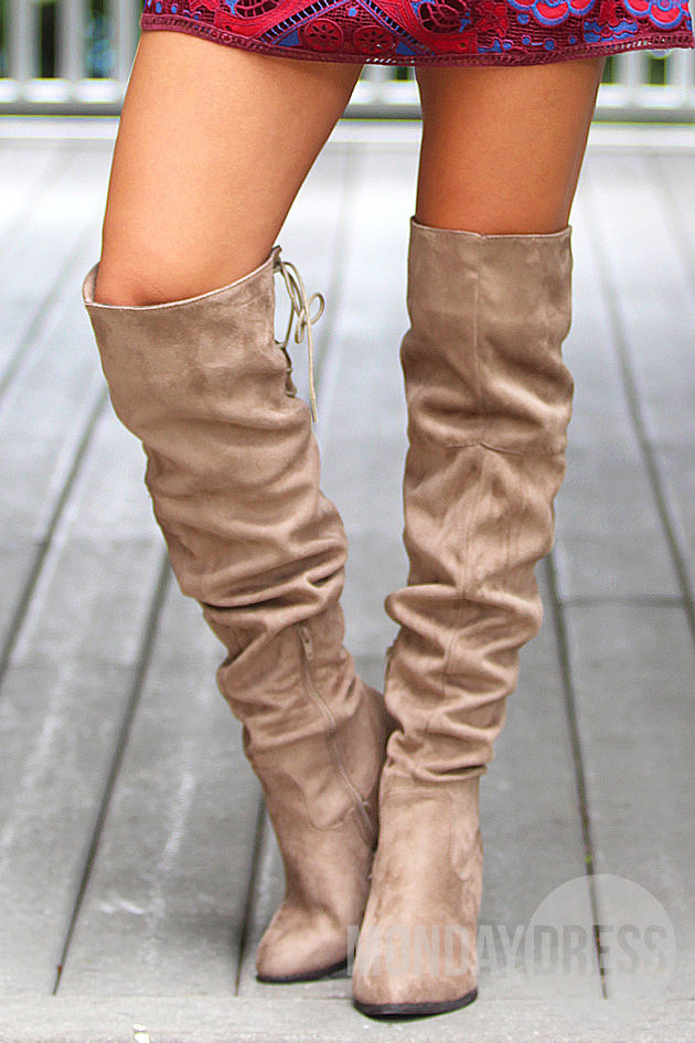 I'll Take You There Over-The-Knee Boots