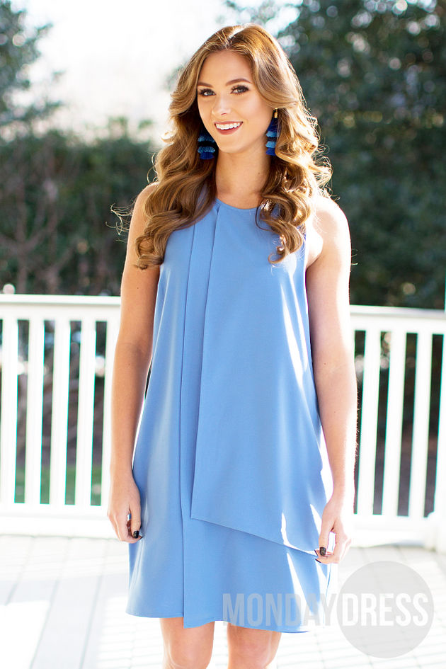Elizabeth Dress in Blue