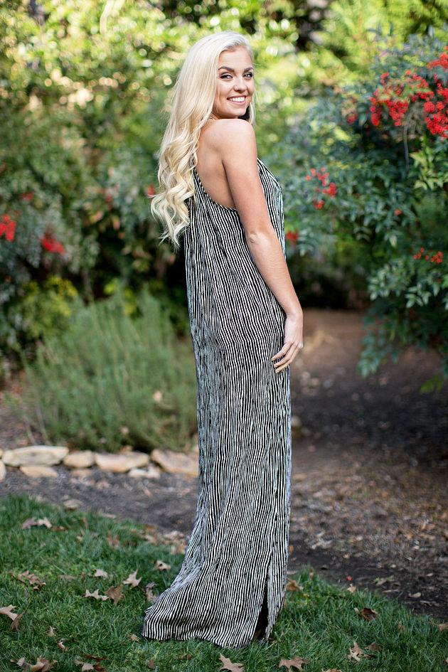 Miley Maxi Dress in Black