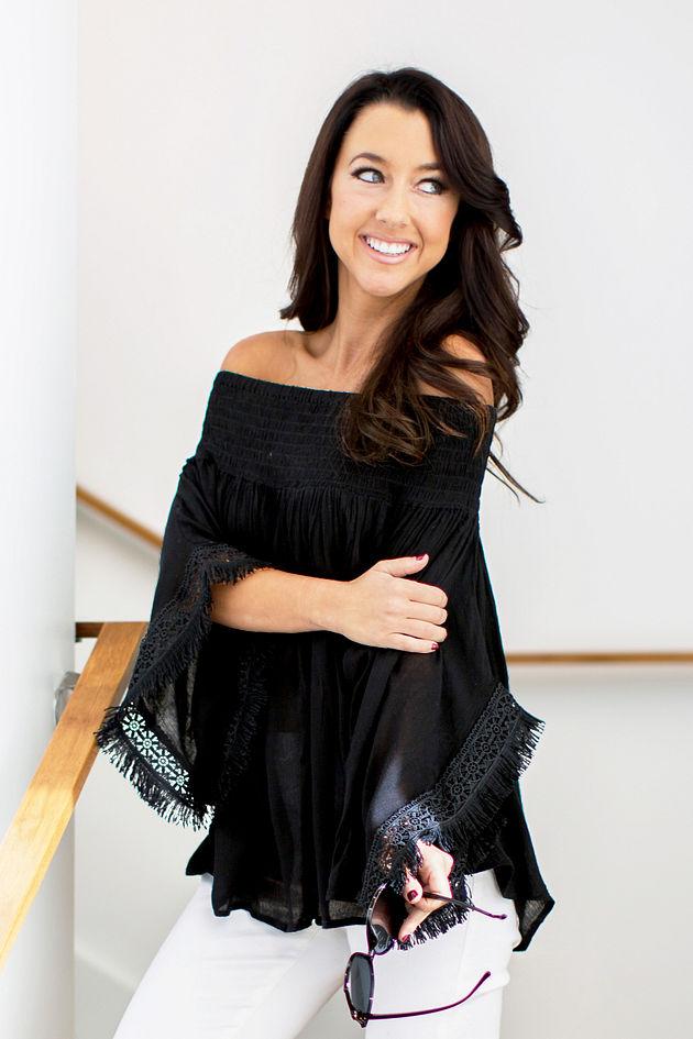 Kristin Top in Black