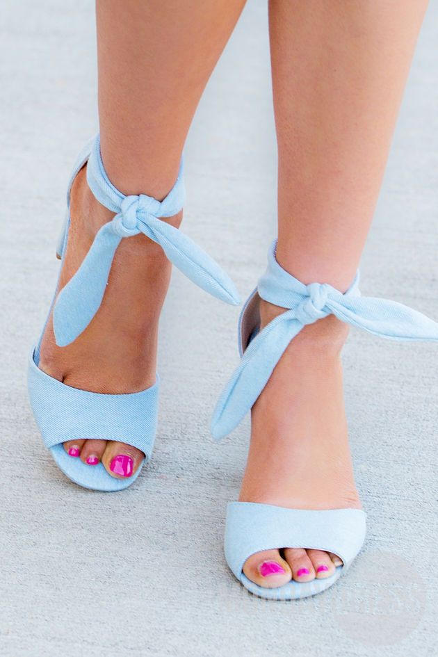 All Tied Up Heels