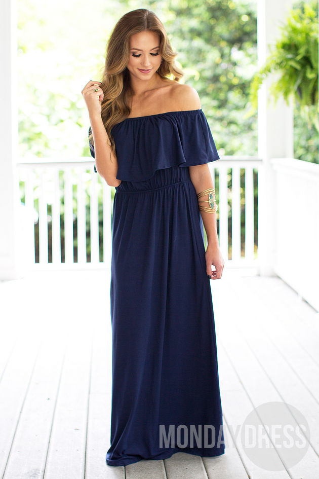 Stay Too Long Maxi Dress