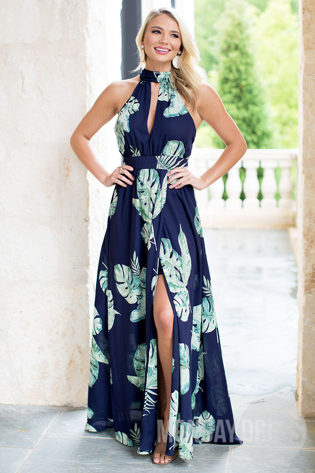 Talk Tropics To Me Maxi Dress
