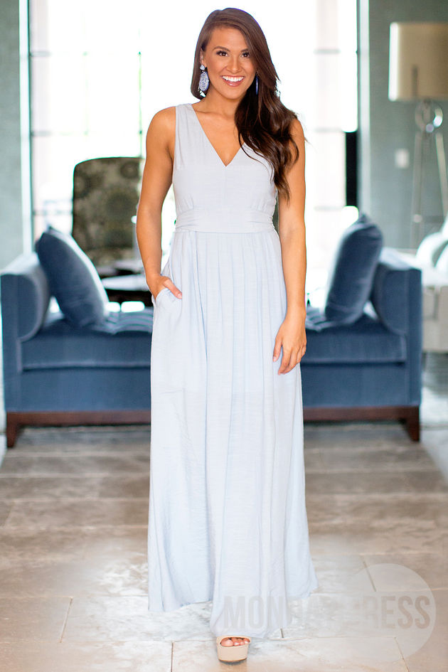 In The Air Maxi Dress