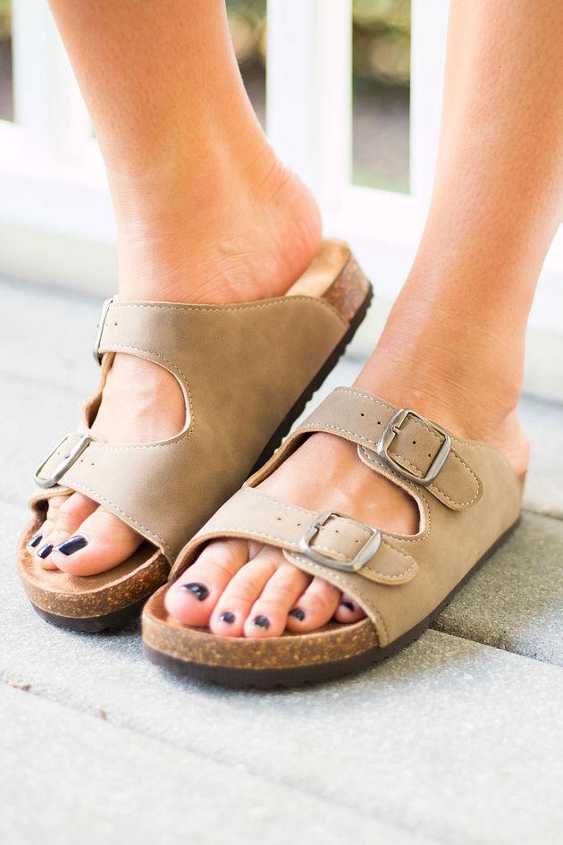 Takin' The Backroad Sandals