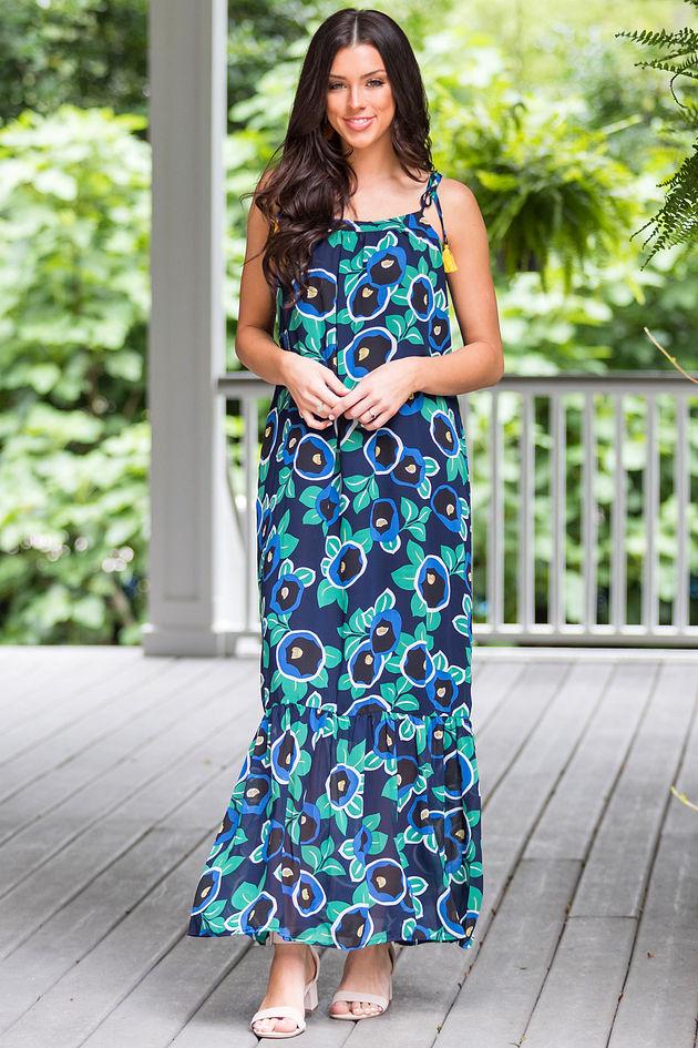 Garden Life Maxi Dress