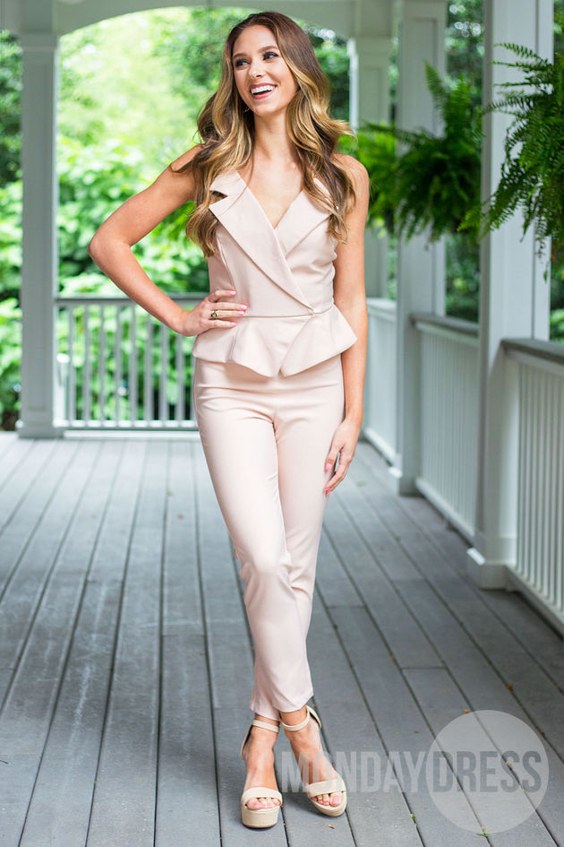 I've Got This Jumpsuit in Blush