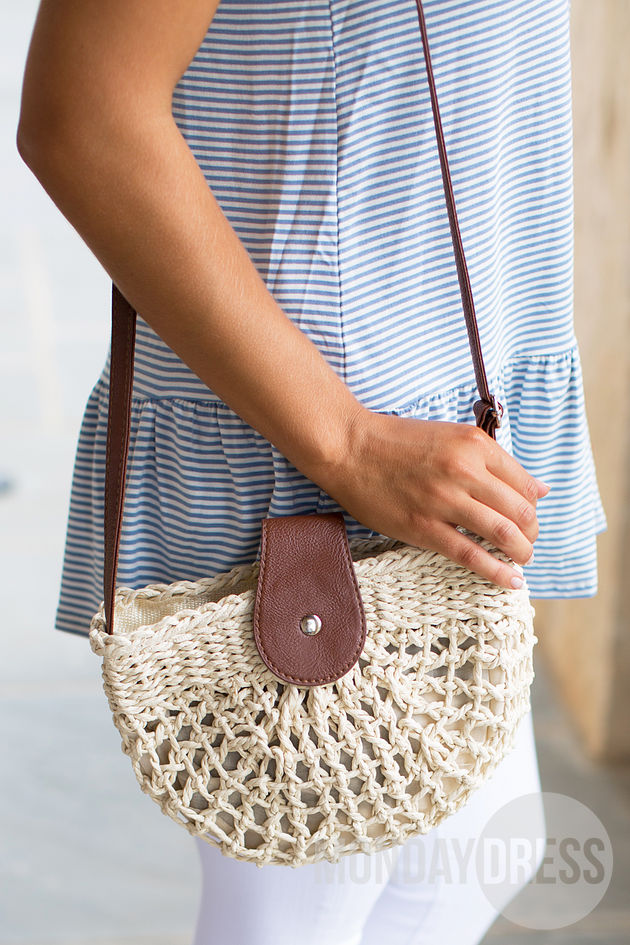 Come and Go Woven Bag