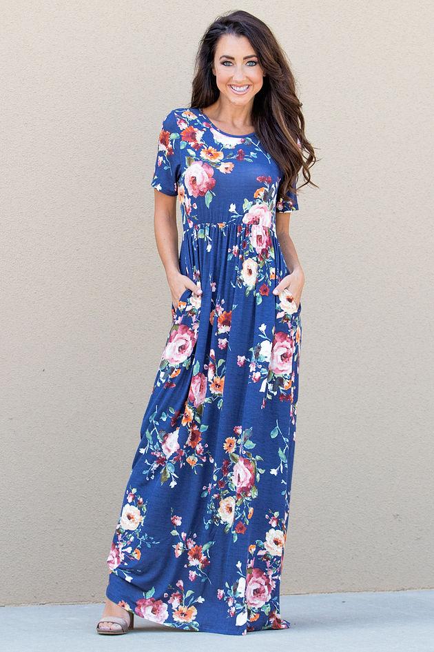 You Make It Easy Maxi Dress