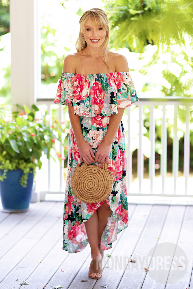 All This Time Maxi Dress