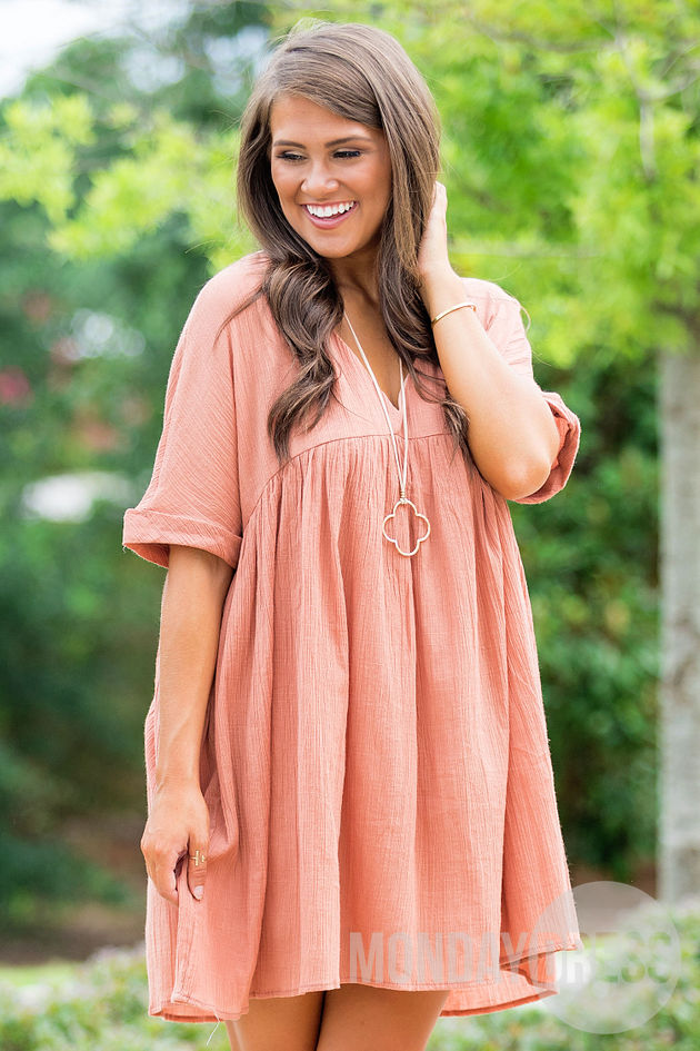 The Perfect One Dress in Ginger