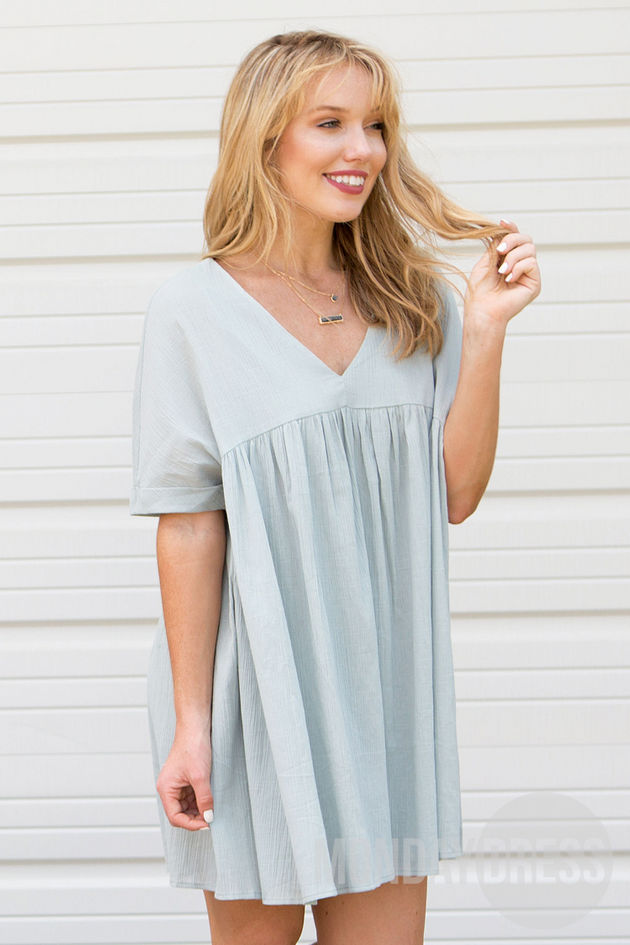 The Perfect One Dress in Sage
