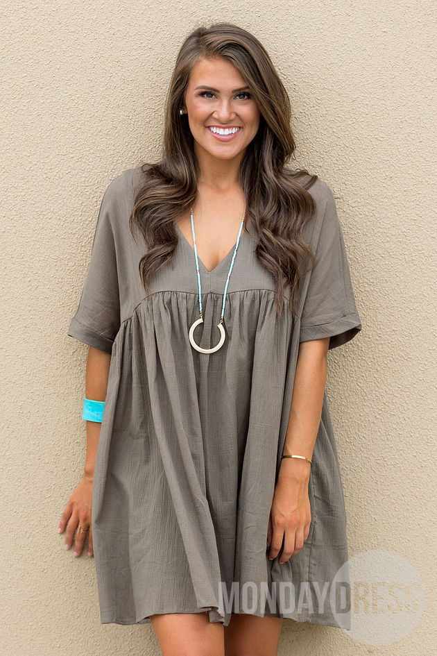 The Perfect One Dress in Olive