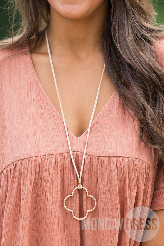 No Letting Go Necklace